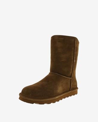 Express Bearpaw Elle Short Suede Boots