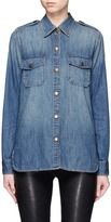 Current/Elliott 'The Perfect Shirt' cotton denim shirt