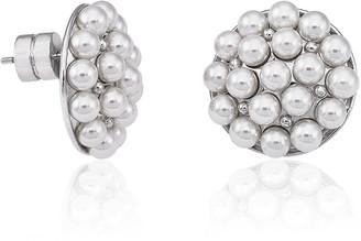 Majorica 4mm Multi-Pearly Post Earrings