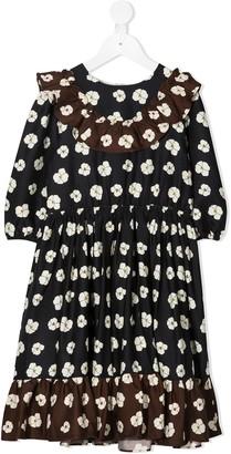 Marie Chantal Fran floral-print dress
