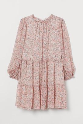 H&M H&M+ Chiffon crepe dress