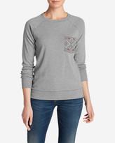 Eddie Bauer Women's Legend Wash Sweatshirt - Pocket