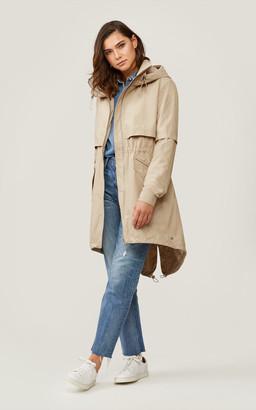 Soia & Kyo DESIREE knee-length water-repellent jacket