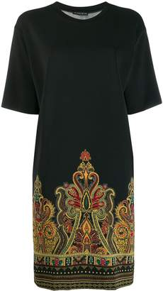 Etro paisley print T-shirt dress