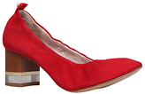 KG by Kurt Geiger Essence Block Heeled Court Shoes, Red