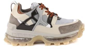 Emporio Armani Suede & Ripstop Chunky Sneaker