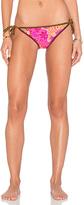 Nanette Lepore Jakarta Jaguar Vamp Reversible Bikini Bottom