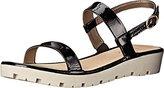 The Flexx Women's Sun Tan Flat Sandal