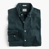 J.Crew Slim Secret Wash shirt in gingham