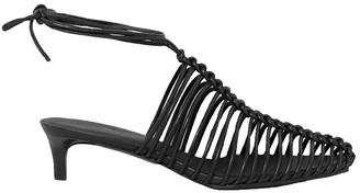 3.1 Phillip Lim Sabrina Cage Leather Mule