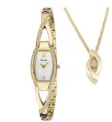 Accurist Ladies Necklace Gift Set Watch