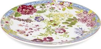 Gien Millefleurs Round Cake Platter (30Cm)