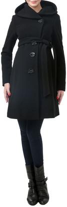 Kimi and Kai 'Lora' Wool Blend Maternity Coat