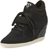 Ash Bebop Mesh Wedge High-Top Sneaker
