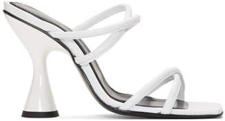 Dorateymur White Stainless Sandals