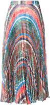 Marco De Vincenzo check-effect printed skirt