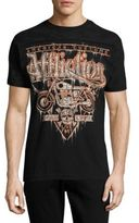 Affliction American Customs Printed Crewneck T-Shirt