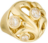 Dominique Aurientis Crystal Cocktail Ring