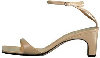 Sergio Rossi Open Toe Ankle Strap Sandals