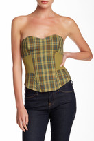L.A.M.B. Plaid Bustier