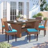 Ash Sol 72 Outdoor Waterbury 7 Piece Outdoor Patio Dining Set with Cushions Sol 72 Outdoor Cushion Color