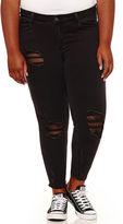 INDIGO REIN Indigo Rein Skinny Jeans-Juniors Plus