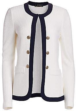 St. John Women's Seaside Chain Knit Jacket