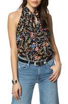 O'Neill Women's Ingrid Floral Print Woven Top