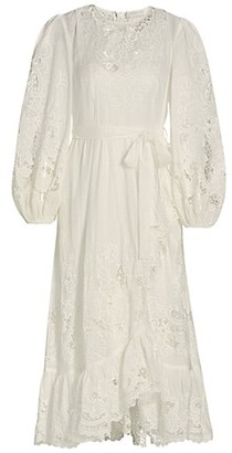 Zimmermann Lulu Scallop Frill Dress