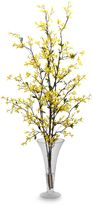 Bed Bath & Beyond Nearly Natural Forsythia with Vase Silk Flower Arrangement
