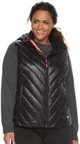 Tek Gear Plus Size Hooded Puffer Vest