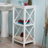 Riverridge Home RiverRidge Home X-Frame 3-Shelf Storage Tower
