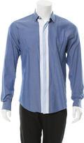 Salvatore Ferragamo City Fit Button-Up Shirt