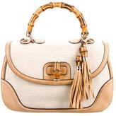 Gucci Large New Bamboo Top Handle Bag