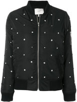 Just Female Oak studded bomber jacket