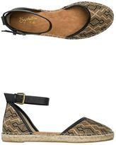 Seychelles Circle Woven Flat Espadrille Shoe