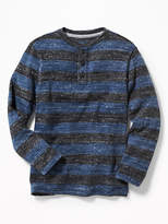 Old Navy Striped Sweater-Knit Henley for Boys