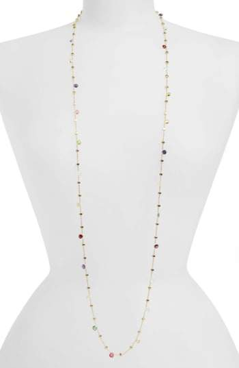 Marco Bicego 'Paradise' Semiprecious Stone Long Necklace