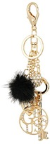 GUESS Charmy Key Chain with Pom Wallet