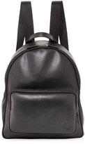 Giorgio Armani Calfskin Leather Backpack, Black