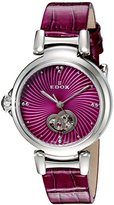 Edox Women's 85025 3C ROIN LaPassion Analog Display Swiss Automatic Pink Watch