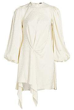 Johanna Ortiz Women's Love Me Do Blouson Sleeve Mini Dress