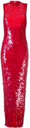 Rachel Gilbert Hand-Embellished Gown