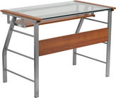 Asstd National Brand Glass Computer Desk