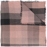 Faliero Sarti checked scarf