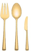 Marchesa By Lenox by Lenox Gold Imperial 3-Piece Serving Set