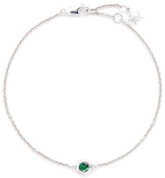 Lc Collection Jewellery 'Lucky Charm' garnet 18k white gold bracelet