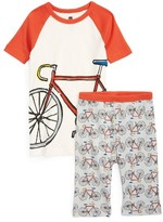 Tea Collection Toddler Boy's Tasmanian Trail Two-Piece Fitted Pajamas