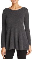 Armani Collezioni Flared Cashmere Sweater