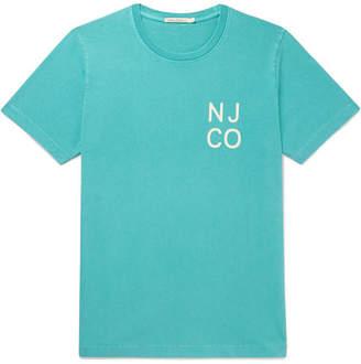 Nudie Jeans Roy Logo-Print Organic Cotton-Jersey T-Shirt